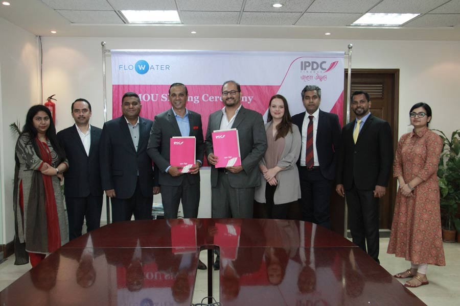 IPDC signs MoU with FloWater Solutions