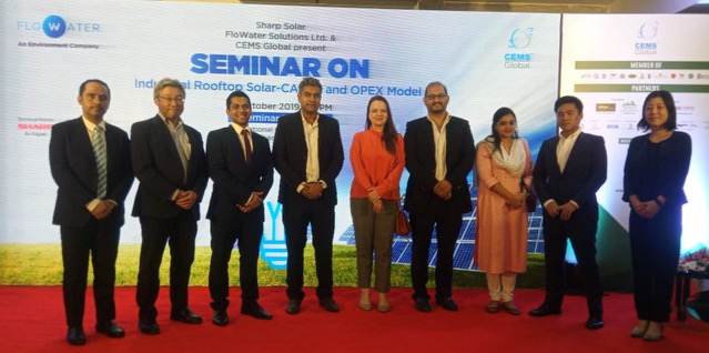 FloSolar Solutions Ltd. launched as an industrial rooftop solar platform company